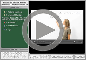 Rational and Irrational Numbers on MathHelp.com