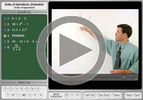 The order of operations pemdas purplemath pemdas on mathhelp the order of operations ibookread Read Online