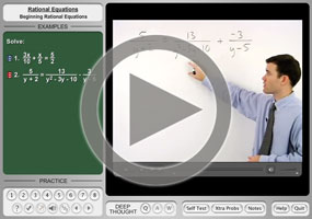 Solving Rational Equations: Introduction | Purplemath