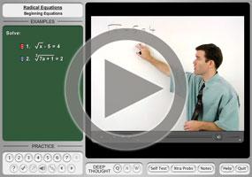 Radical Equations on MathHelp.com