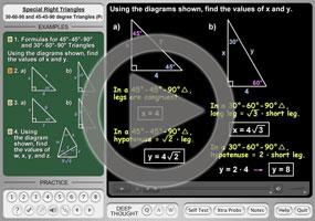 45 45 90 Angles and 30 60 90 Angles on MathHelp.com