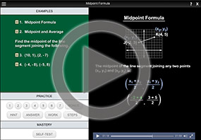 Midpoint Formula on MathHelp.com